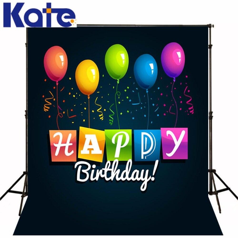 Kate Baby Birthday Background Globs Backdrop Children Backdrop Seamless Cartoon Photo For Studio Custom