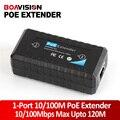 400 Мбит/С Коммутационная Способность 13 Вт Макс IEEE802.3af In/Out, 1-порт PoE Extender/Репитер Ieee 802.3af 1Ch Выход поддержка IP Камер
