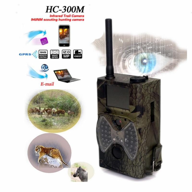 Skatoll HC300M 940NM Night Vision Hunting Camera HD 1080P GPRS MMS Digital Infrared Hunter Camera HC-300m MMS IR Trail Camera skatoll hc300m 940nm night vision