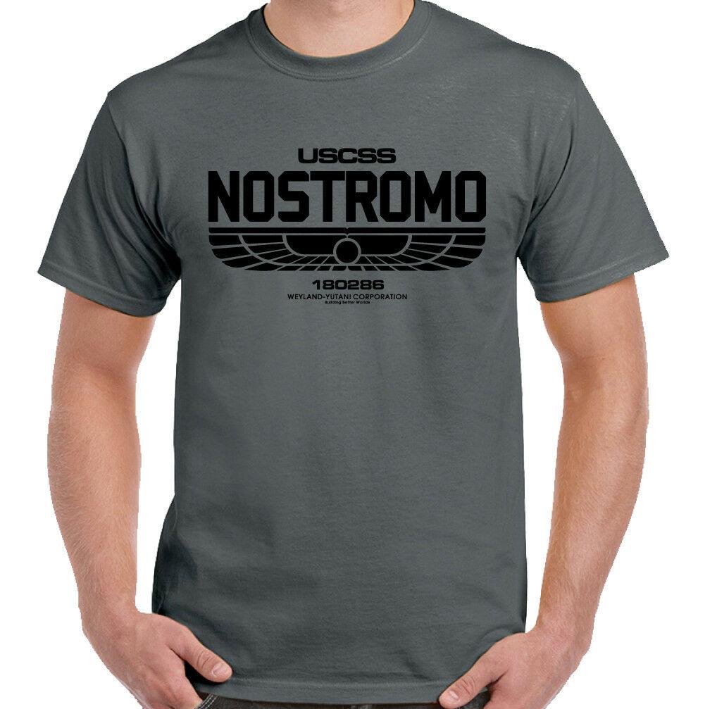Nostromo 180286 Mens T-Shirt Alien Film Movie USCSS Weyland-Yutani Sci-fi