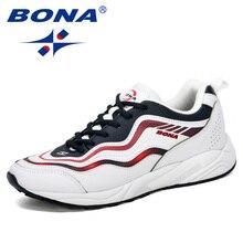 BONA 2019 New Designer Men Running Shoes Sports Outdoor