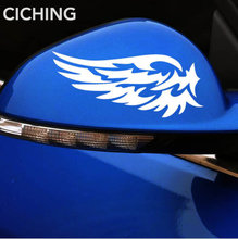Car Stickers Wings Reflective Material Body Sticker for Honda Civic Accord Fit Crv Hrv Jazz City CR-Z Element Insight MDX(China)