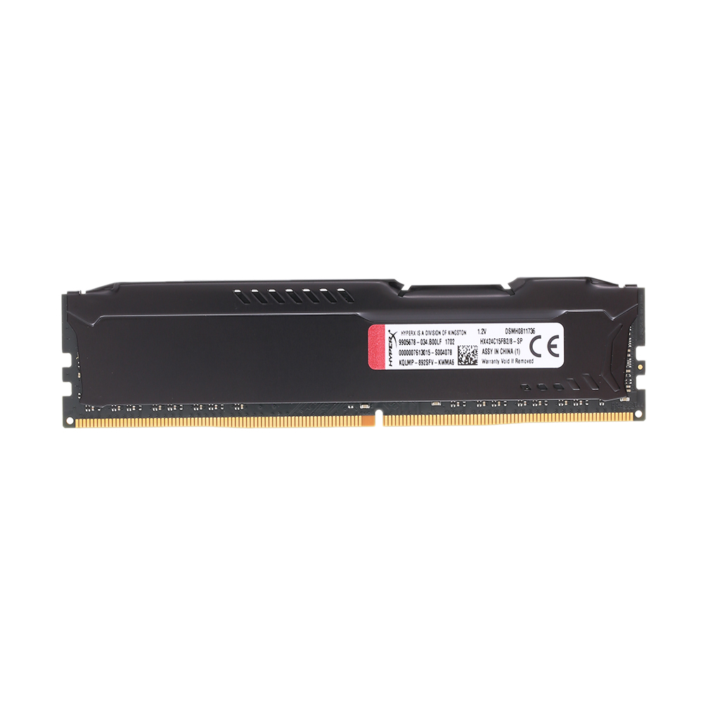 Kingston HyperX FUREUR 4 GB 8 GB 16 GB DDR4 2400 MHz PC mémoire ram DIMM 288 broches ram de bureau mémoire interne RAM Pour Ordinateur Jeux Ram - 3