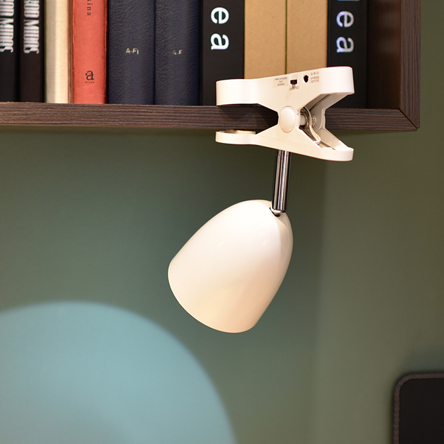 Super Bright Anti-glare LED Clip Lamp Battery Powered USB Clamp On Bed Headboard Bookshelf Desk Study Book Reading Light