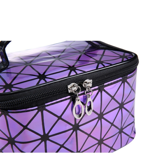 Cosmetic PU Leather Make Up Toiletry Kit Bag 4