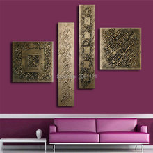 hand painted abstract oil painting Graffiti canvas wall art textured paintings for living room