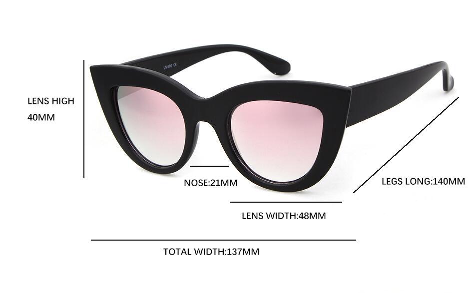 HTB1LOUMNFXXXXb8apXXq6xXFXXXm - Women's cat eye sunglasses ladies Plastic Shades quay eyewear brand designer black pink sunglasses PTC 221
