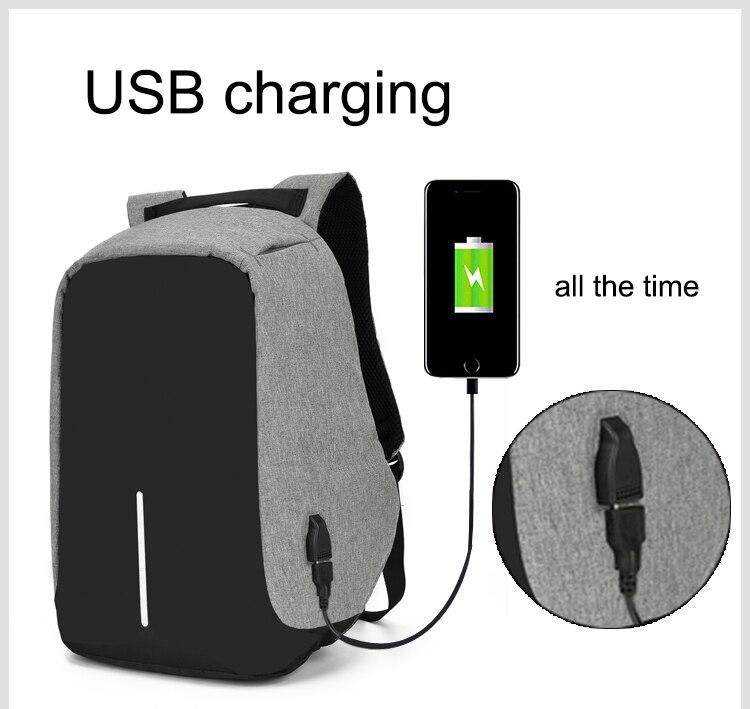Sac à dos pour ordinateur portable USB 5