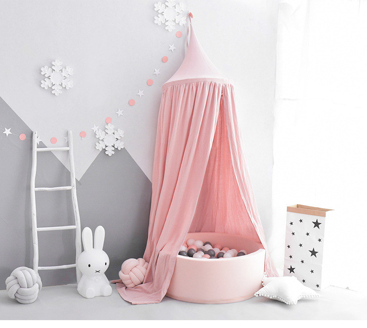 INS North Mosquito Net Curtain Dome Hanging Nets ChildrenS Room Bed Sea Ocean Ball Pool Baby Bedding Decoration
