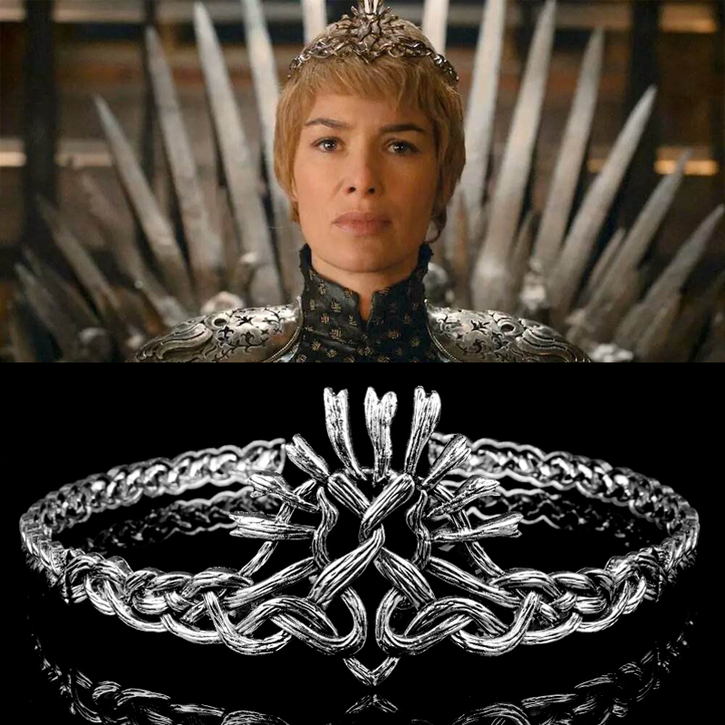 Costume Crowns Tiaras Clothing Shoes Accessories Game Of Thrones Cersei Lannister Womens Cosplay Crown Tiaras Christmas Xmas Gift Myself Co Ls
