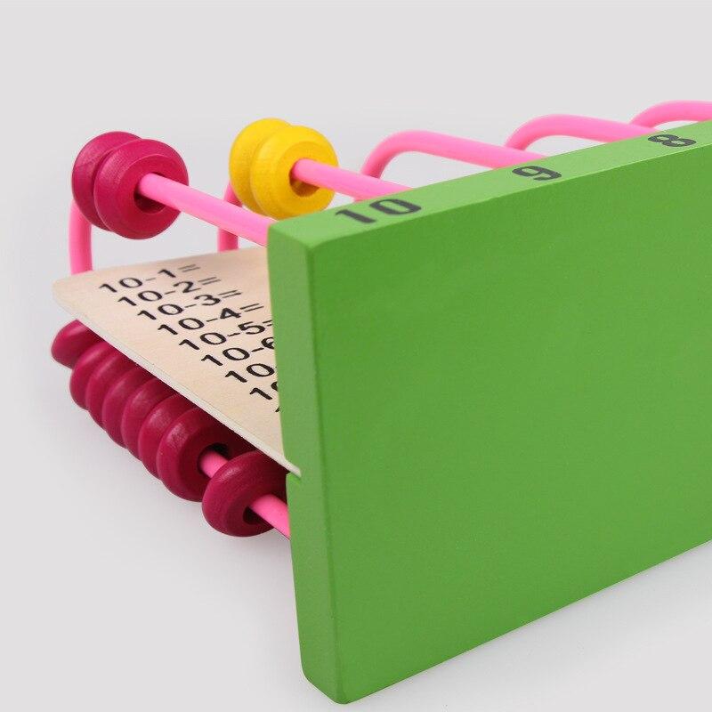 LOGOWOOD Puinen abacus Vauva Matematiikkalelut Rainbow Bead Classic - Oppiminen ja koulutus - Valokuva 4