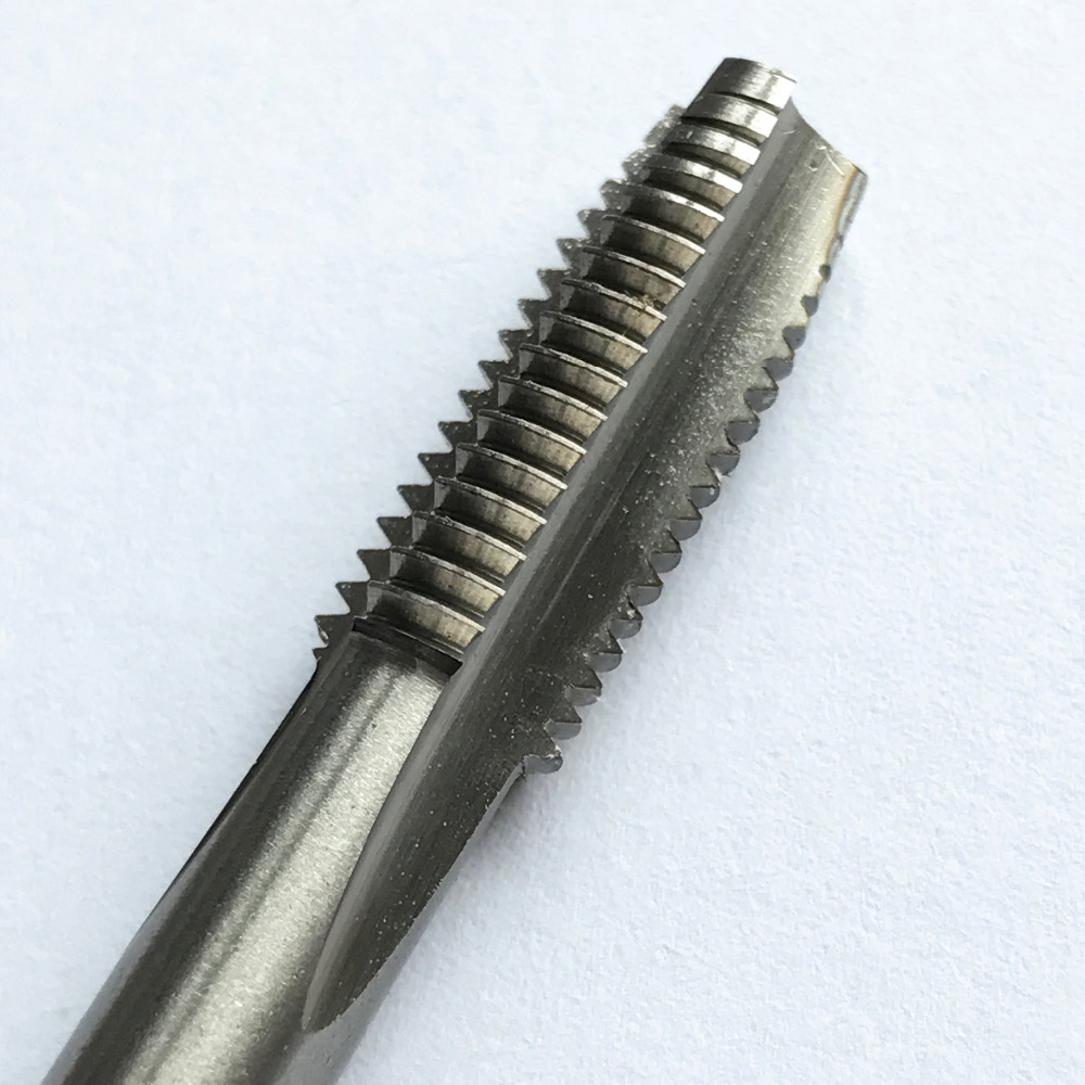 Free Shipping Of 1PC HSS6542 Made HSS Machine Tap M8*0.5/0.75/1.0/1.25mm Screw Taps For Steel Workpiece Threads Making