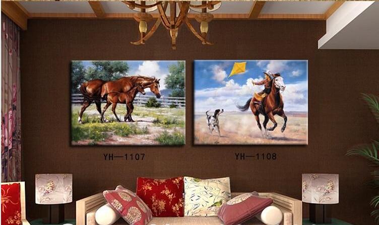 Compra large canvas cowboy paintings y disfruta del envío gratuito ...