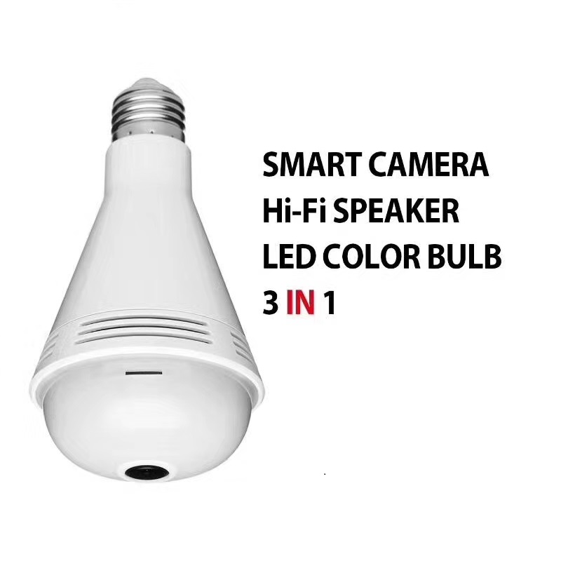 Smart Home 1.3MP bulb Sing function camera 960P 360 degree 3D VR Wireless IP Camera 1.3MP Home Security WiFi Panoramic Camera нивелир ada cube 2 360 home edition a00448
