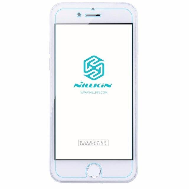 Para apple iphone 7 vidrio templado original nillkin h + pro nano protector de pantalla 2.5d arco para iphone 7 claro película protectora