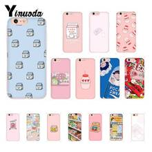 Yinuoda Kawaii Japanese Strawberry Milk Luxury Unique Phone Cover for iPhone 8 7 6 6S Plus X XS MAX 5 5S SE XR 10 Fundas Capa