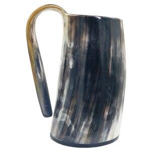 Image 4 - Handmade Viking Drinking Horn Mug Beer Wine Goblet Celebration Cup