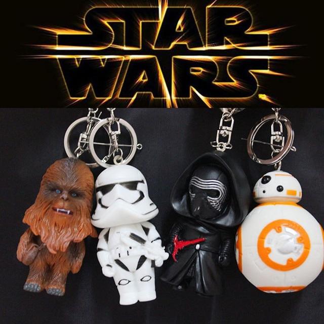 Star Wars Kylo Ren Stormtrooper Keychain Keyring (4 Styles)