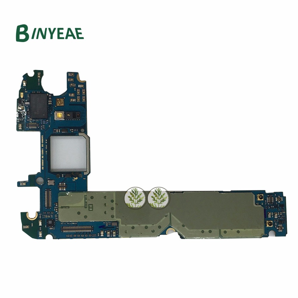 BINYEAE Original Main Motherboard Clean Imei 32GB Replacement For Samsung Galaxy S6 G920i Unlocked Testing Good
