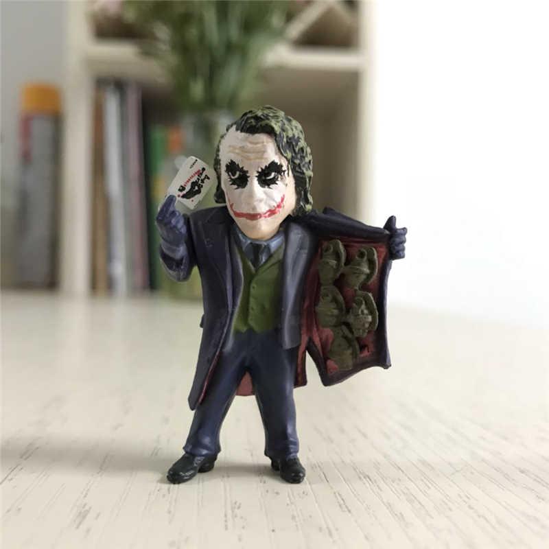 Model DC Figurines-Toys Action-Figure Collection Joker Spider-Man-Tree Deadpool Movie