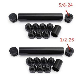 1 2-28 5 8-24 aluminiowa pułapka paliwa filtr rozpuszczalnika garnitur dla NAPA 4003 WIX 24003 qt4001 srebrny czarny czerwony niebieski tanie i dobre opinie NoEnName_Null Aluminum 150g 1 2-28 or 5 8-24 Fuel Filter Kit China
