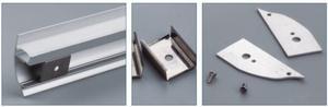 Image 3 - 알루미늄 led 프로파일의 10 pcs 1 m 길이 항목 번호 LA LP43 벽 장착 led 프로파일 최대 12mm 너비 led 스트립에 적합