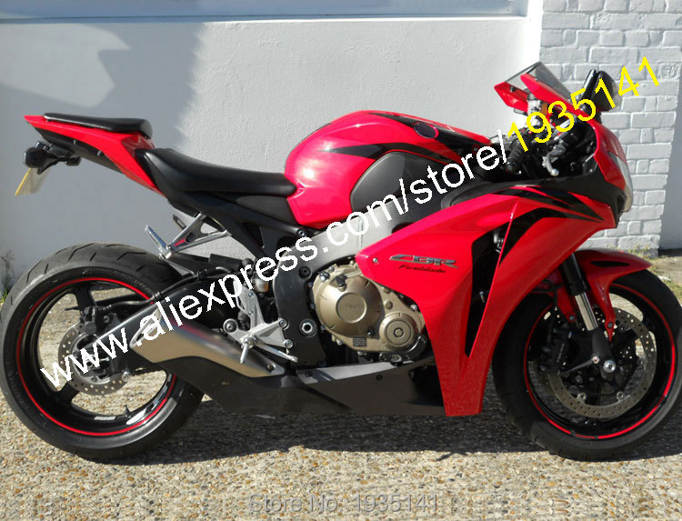 Hot Sales,For Honda CBR1000RR 2008 2009 2010 2011 CBR 1000RR CBR1000 RR Red Black ABS Motorcycle Fairing (Injection molding) for honda cbr 1000 rr 2008 2009 2010 2011 motorbike seat cover cbr1000rr motorcycle red fairing rear sear cowl cover