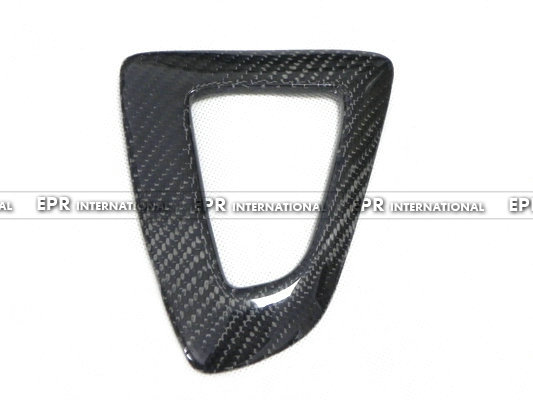 For BMW F30 Carbon Fiber Gear Surround RHD Glossy Fibre Finish Interior Trim Accessories Racing Car-Styling