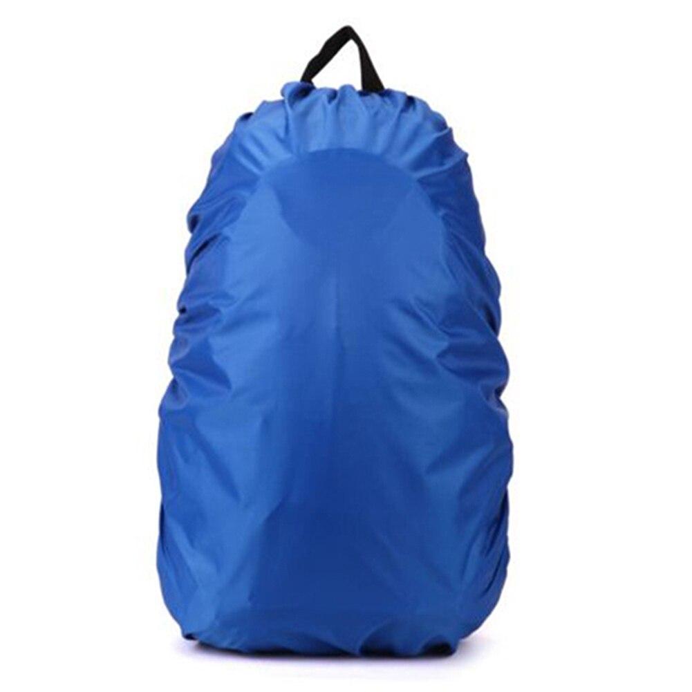 Новый Водонепроницаемый дорожный аксессуар рюкзак пыль дождевик 60L, синий