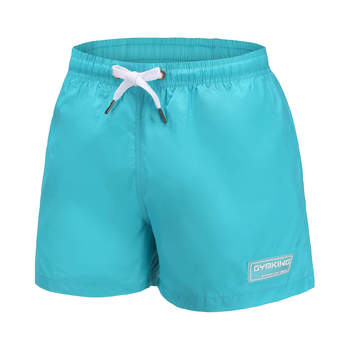 Pantalones cortos casuales de moda para hombre Gyms Fitness Bodybuilding entrenamiento pantalones cortos de verano para hombre cielo azul Delgado Cool Beach Sweatpants Bottoms