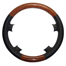 Черные кожаные светильник дерево рулевого колеса Крышка для Mercedes 91-98 W140 S S300 S320 S420 S600 SE 93-95 W124 E E200 E320 E500 E36