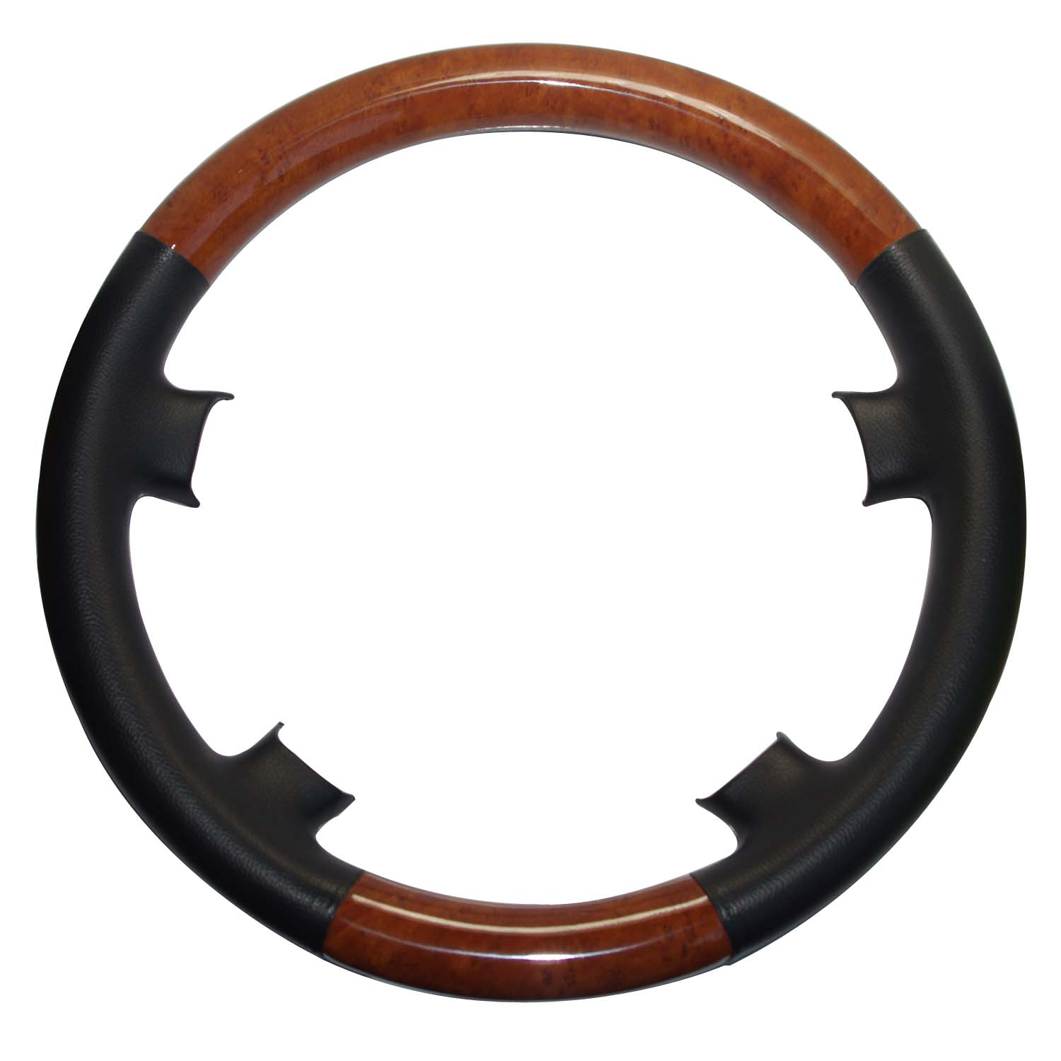 Steering-Wheel-Cover Light W124 Wood W140 Mercedes S320 Black for 91-98 W140/S/S300/.. title=