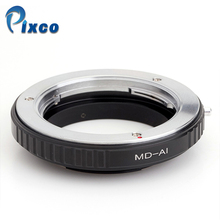pixco  Macro lens Adapter Ring No Glass Works For Minolta MD MC Lens to Nikon F Mount camera Adapter Ring For D3100 D5100