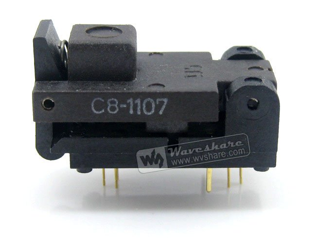 SOT6 SOT-23 SOT-23-6 499-P44-00 Wells IC Test Burn-In Socket Programming Adapter 1.3-1.8mm Width 0.95mm Pitch спот maytoni chance black eco007 02 w