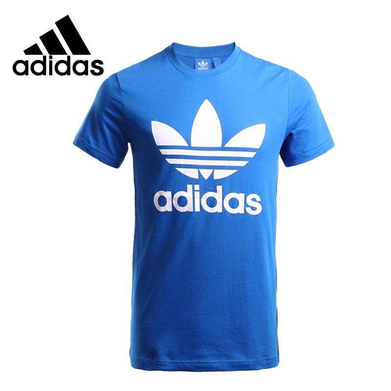 Original New Arrival Adidas Originals Men's T-shirts short sleeve Sportswear adidas original new arrival official originals s s camo color men s t shirts short sleeve sportswear cd1696