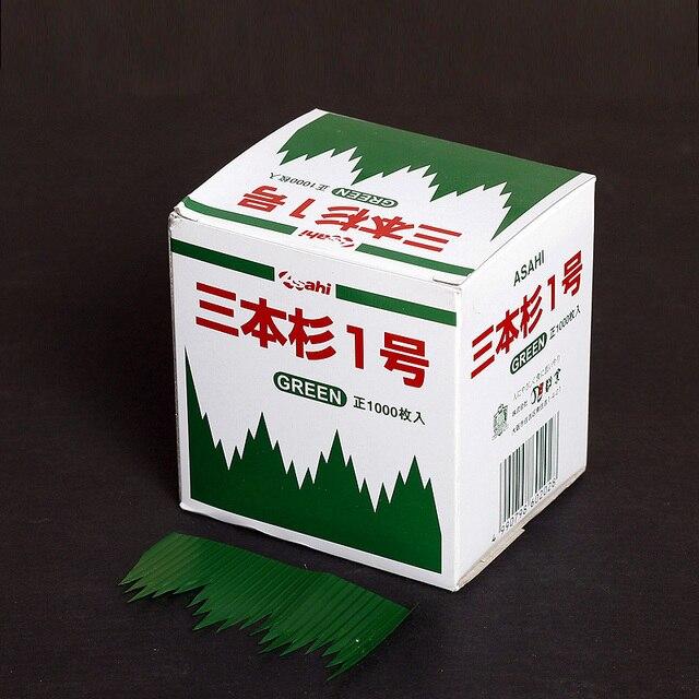 1000 pz/pacco Foglie Verdi Cucina Giapponese Sushi Decorazione ...