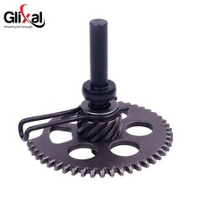 Glixal GY6 125cc 150cc Engine Kick Start Idle Gear Shaft Sprocket for Chinese Scooter Moped Go Kart Quad ATV 152QMI 157QMJ