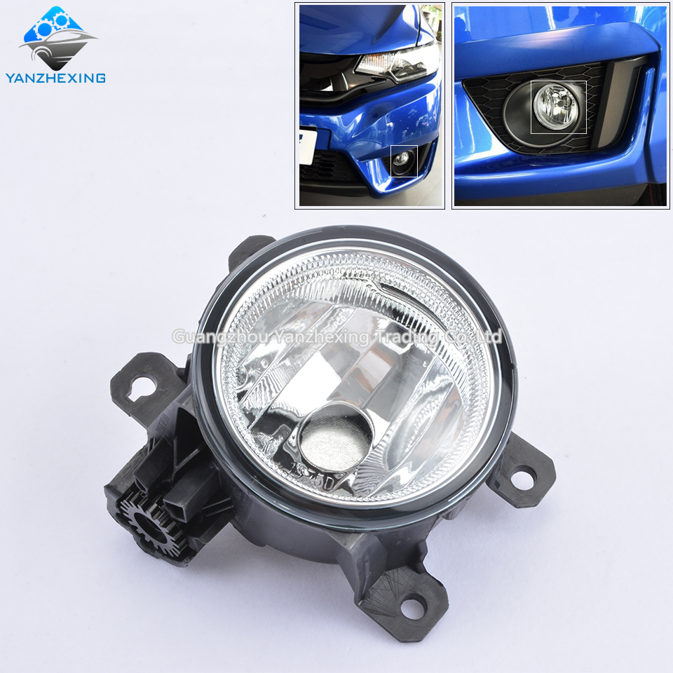 2pcs Fog Light Fog Lamp For Honda Fit 2015 2016 Jazz