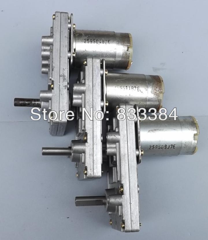 2pc/lot Japan TAKANAWA 555 metal gear motors 3v6v12V 24V DC gear motor high torque and low noise