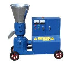 KL200C 7.5KW кормовой деревянный гранулятор машина, с мотором
