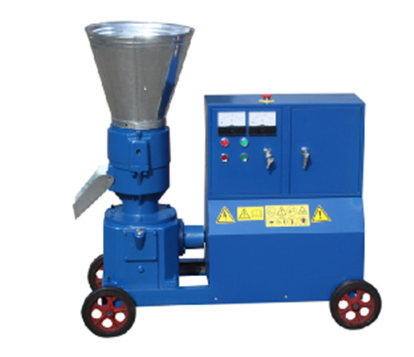 KL200C 7.5KW Feed Wood Pellet Mill Machine, With Motor