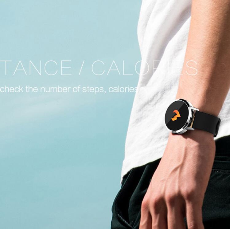NAIKU Q8 Smart Watch OLED Color Screen men Fashion Fitness Tracker Heart Rate Blood Pressure Oxygen Smartwatch 4