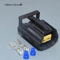 Shhworlsea-Kit de enchufe de conector eléctrico sellado para coche Land Rover Defender NAS, lámpara de luz 344276-1, 2 pines/Way, hembra