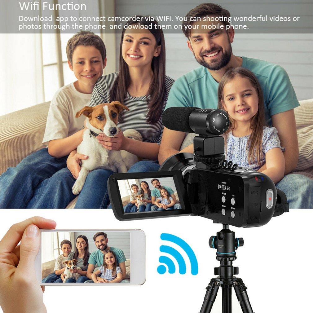 HTB1LOZ9aHj1gK0jSZFOq6A7GpXaw HDV4K HD digital camera night vision 30MP DV WIFI touch screen infrared fill light Camcorder Recorder