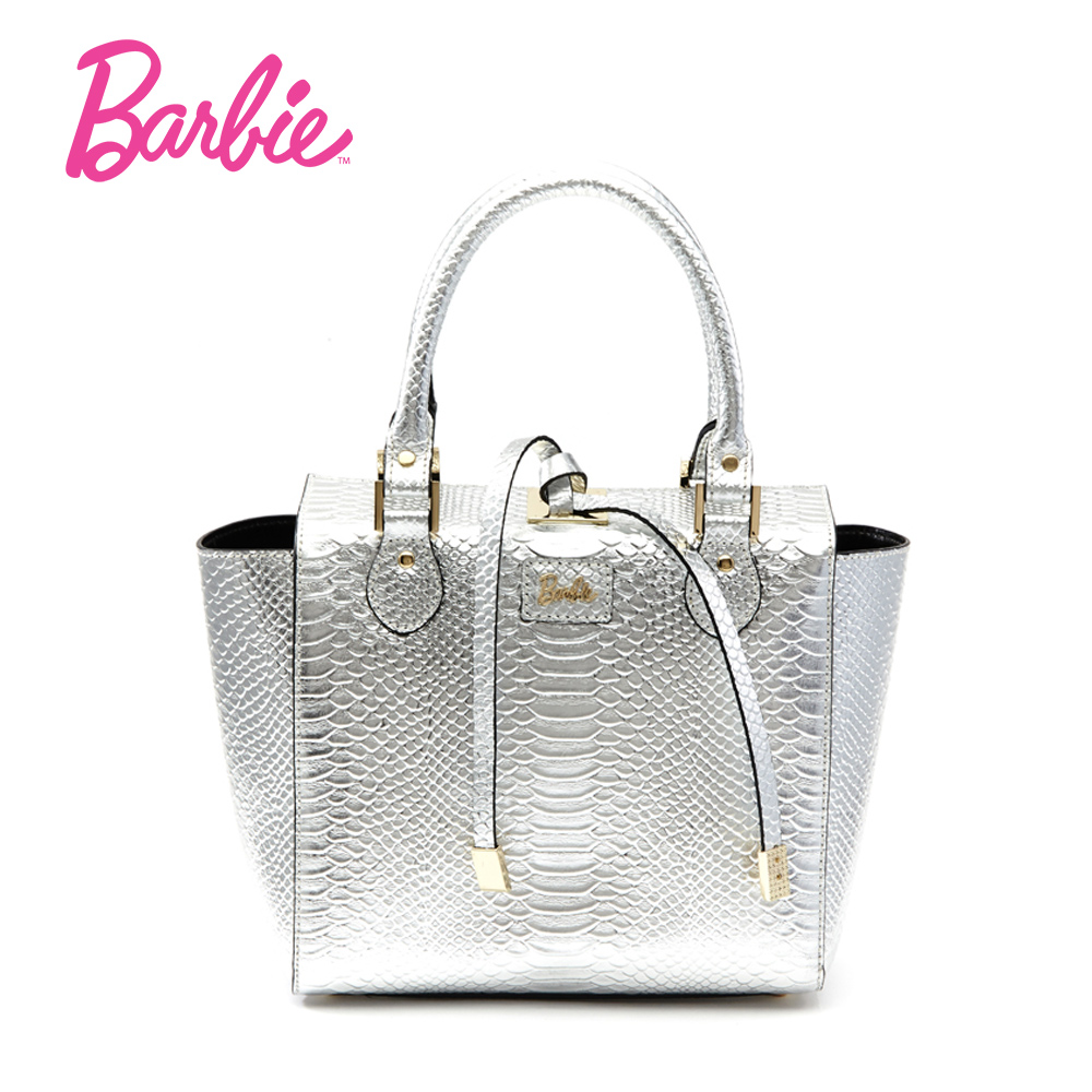 Barbie 2017 Popular Luxury Women Handbag Fashionable Modern Rock Bag Female Bag with reasonable space design and shinning color