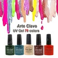 Arte Clavo (Any 6 Colors x 8ml) 79 Colors Nail Kit Professional Polish Lacquer Acrylic Gel Builder Wholesale UV Gel