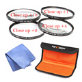 58mm Macro Close Up Filter Lens Kit +1 +2 +4 +10 for 58mm Canon EOS 700D 650D 600D 550D 500D 1200D 1100D 100D Rebel T5i T4i Lens