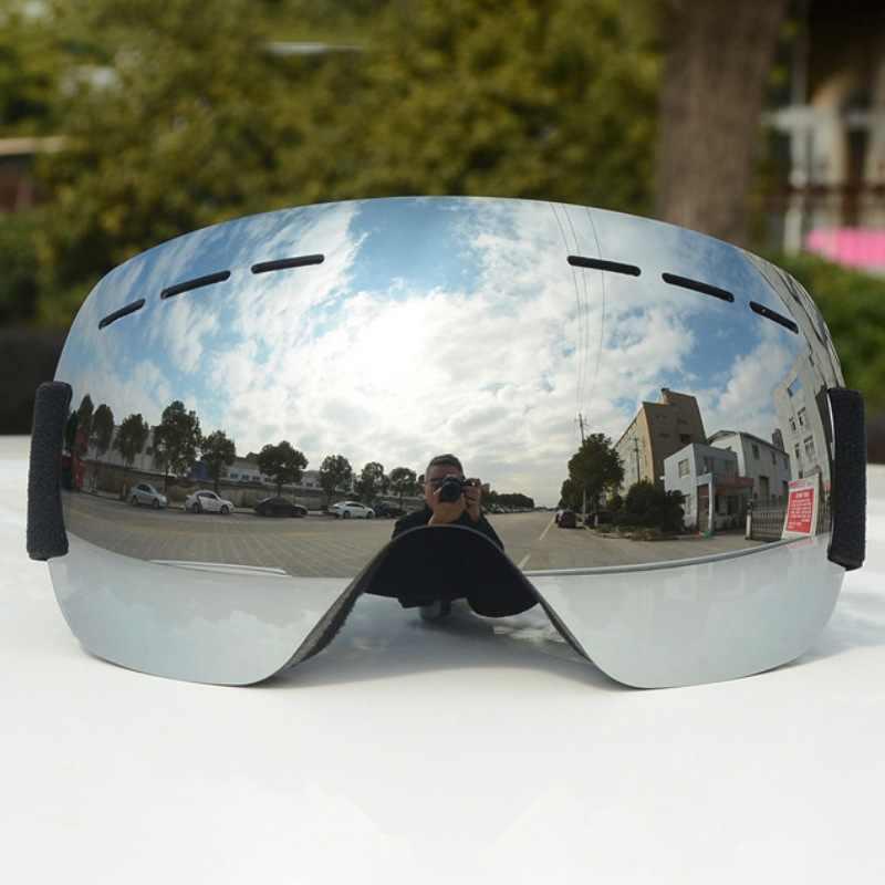 c7910e9bd0f High Quality Ski Goggles Double Layers anti-fog Big Ski Mask Glasses Skiing  Men Women