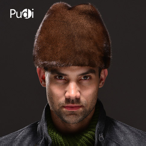 HM027 Real genuine mink fur hat winter Russian men's warm caps whole piece mink fur hats hm039 real genuine mink hat winter russian men s warm caps whole piece mink fur hats