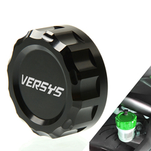 Rear Brake Master Cylinder Fluid Reservoir Cover Cap Motorcycle For Kawasaki Versys 650 all year Versys 1000 2012-2016 2013 2014 for kawasaki z900 z650 versys 1000 650 versys kle650 er 6n vulcan s brake master cylinder mirror mount clamp cover aluminum